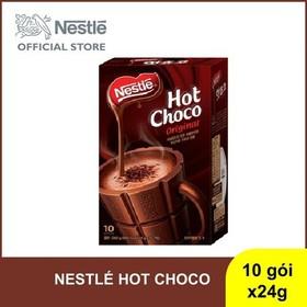 Hộp bột ca cao Nestle Hot Choco - 10 gói x 24g - NES023156