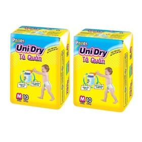 Combo 2 Bịch Tả Quần Unidry M10 - L9 - XL8 Miếng - 2 tả quần mini