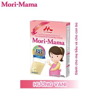 Sữa bầu Mori-Mama dành cho phụ nữ thời kỳ mang thai và cho con bú - hương vani 200gr - Morimama-1 thumbnail
