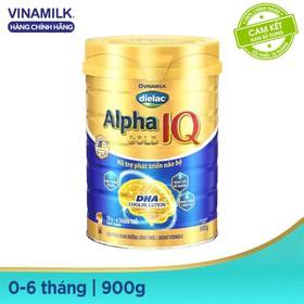 Sữa bột Alpha Gold 1 900g - Sữa bột Alpha Gold 1 900g
