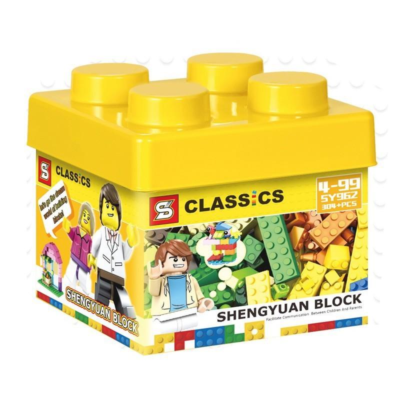 Bộ đồ chơi lắp ráp thoải mái sáng tạo cho bé (304 Mảnh Ghép) – Bộ đồ chơi lắp ráp thoải mái sáng tạo cho bé