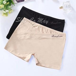 Quần mặc váy bầu cạp chéo cotton cao cấp túi zip - 36201 thumbnail