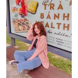 Áo Blazer Hàn Quốc siêu đẹp