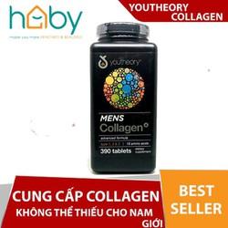 Viên uống Collagen Youtheory Men's Type 1, 2 & 3 Dành Cho Nam 390 viên