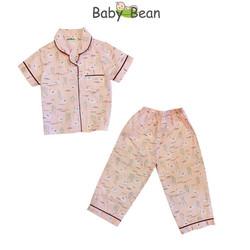 Đồ Bộ Pyjama Bé Gái BabyBean (Nhiều size)