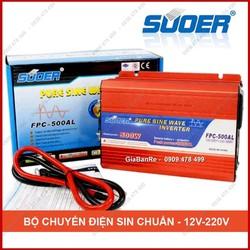 BỘ ĐỔI ĐIỆN INVERTER HỆ SIN CHUẨN CHẤT LƯỢNG CAO FPC - SUOER - 500W