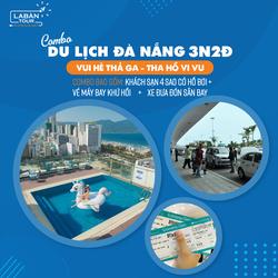 Combo du lịch Đà Nẵng 3N2Đ: Vé máy bay khứ hồi - Khách sạn 4 sao- Xe đón sân bay