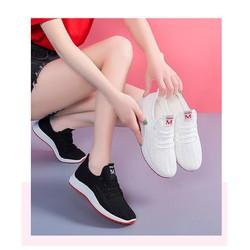 Giày vải thoáng khí kiểu dáng thời trang cho nữ - W97