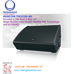 "LOA TURBOSOUND Monitor TFX152M-AN - ACTIVE 2 ways - 15"" -1,100 Watts"