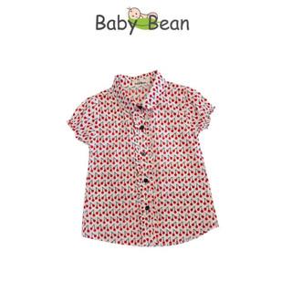Áo Sơ Mi Bé Gái Cotton Chấm Bi & Họa Tiết ngộ nghĩnh BabyBean - BB118 thumbnail
