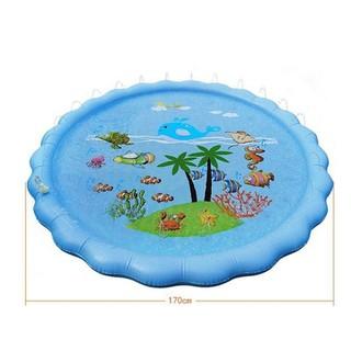 Bể bơi phun nước tròn 1m7 - Bể bơi phun nước tròn 1m7 thumbnail