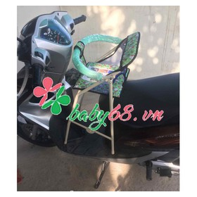 Ghế đi xe máy xếp gọn dành cho xe Click, Vision, Vario, Luvias, Janus - q889