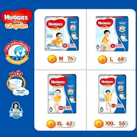 [Miễn phí VC] Tã quần/Tã dán gói cực đại Huggies siêu tiết kiệm cho mẹ và bé - Quan-Dan-Huggies