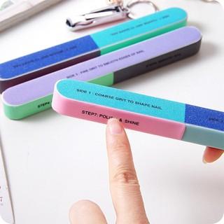 Dụng cụ dũa móng tay 6 mặt - dũa móng thumbnail