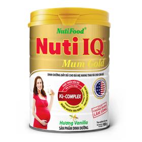 Sữa Nuti IQ gold Mum lon 900g - Sữa Nuti IQ gold Mum lon 900g