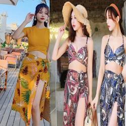 BỘ Bikini, Bộ đồ bơi, bộ quần áo đi biển có 3 mẫu