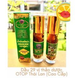 nội địa Thái - dầu gió 29 loại thảo dược cao cấp 8ml - Aroma Thai Oil Puya Brad