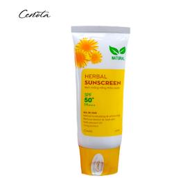 Kem chống nắng thảo dược Cenota SPF50+/PA+++ 60ml - CENOTA HERBAL SUNSCREEN