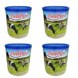 Combo 04 lon sữa đặc có đường Delipure (1 kg/lon) nhập khẩu từ Malaysia