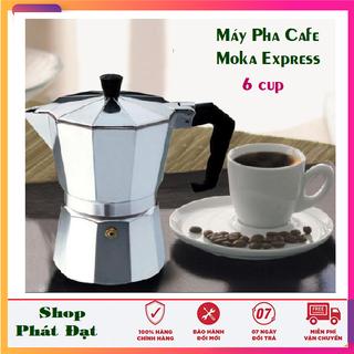 Ấm pha cà phê Espresso Italy bình pha cà phê Ý 6 tách - Ấm pha cà phê Espresso thumbnail