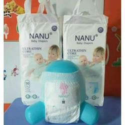 Bỉm nanu baby S 100 M100. L100. xl 100 xxl 100 xxxl 100cho bé từ 3-5kg