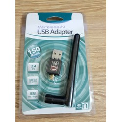 USB thu sóng Wifi cho máy tính để bàn có Anten