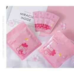 mặt nạ ngủ hoa anh đào Sakura set 15 gói nhỏ