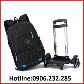 Balo kéo học sinh 909 mẫu 6 bánh leo cầu thang - Túi kéo du lịch - Balo kéo học sinh RE-0526 thumbnail