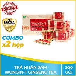 Combo 2 hộp Trà nhân sâm Wongin T Ginseng Tea