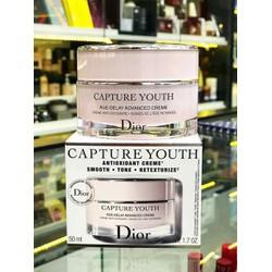 Kem dưỡng Dior Capture Youth Age-Delay Advanced Creme hộp 50ml của Pháp