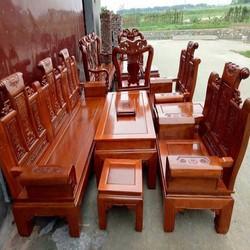 Bộ bàn ghế gỗ âu á - Tuấn Long