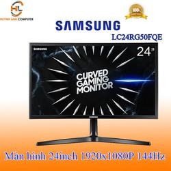 """Màn hình máy tính Led 24"""" Samsung LC24RG50FQEXXV FHD 144Hz thỏa đam mê game thủ - Hãng phân phối"""