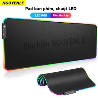 Miếng lót chuột bàn phím LED - Miếng lót chuột LED RGB - Mousepad Led RGB thumbnail