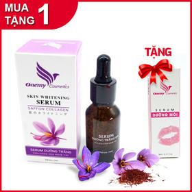 [MUA 1 TẶNG 1 - HỖ TRỢ FREESHIP] Serum dưỡng trắng chống lão hóa thâm nám Collagen Hoa Nghệ Tây - TẶNG Serum siêu dưỡng làm hồng môi - Onemy-NgheTayMOI