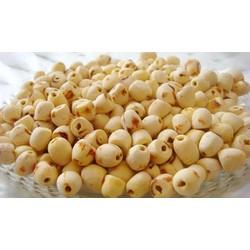 Hạt sen sấy khô - Loại sấy khô sạch không hóa chất tẩm màu - Gói 500gr