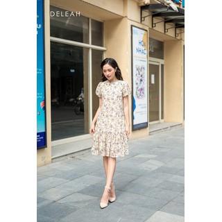 De Leah - Đầm Suông Hoa Nhí Đuôi Cá - Thời trang Thiết Kế - VL2005081K thumbnail