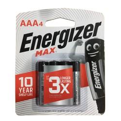 Pin AAA Energizer Max E92 BP4 - Hàng Chính Hãng Model 2020