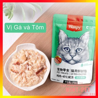 Pate cho mèo Wanpy Gói 80 g - 748028473 thumbnail