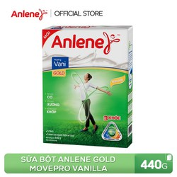 Sữa bột Anlene Gold Movepro Vanilla 440g