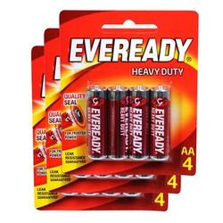 Bộ 3 Vỉ Pin AA Eveready 1015 BP4 - Sản Phẩm Pin Chính Hãng Giá Rẻ