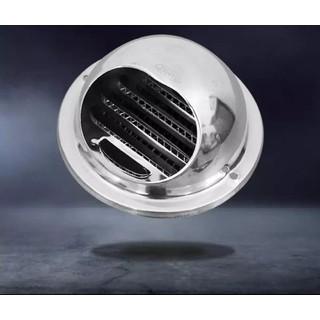 Chụp thông hơi Vent Cap inox kèm lưới tản nhiệt chắn côn trùng D150 - VC1 thumbnail