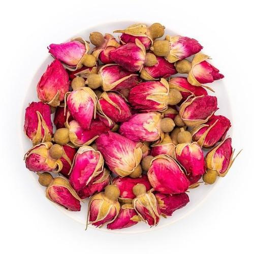 Trà Hoa Hồng - Túi Zip - 100% hoa hồng tụ nhiên sấy khô - làm sáng da , đẹp da , giảm căng thẳng
