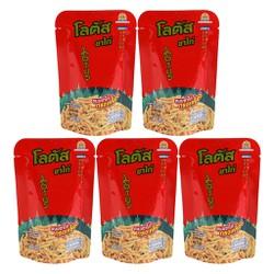 Combo 5 Gói Bánh Que Đỏ Lotus Biscuit Stick (55g / Gói)
