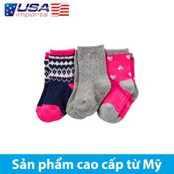 Set 3 đôi vớ Nhập Mỹ (gb14600)