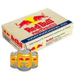 Thùng 24 Lon Bò Húc Nước Tăng Lực Red Bull (250ml x24 Lon)