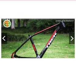khung xe đạp siêu nhẹ full carbon Trek e2 17 đỏ đen