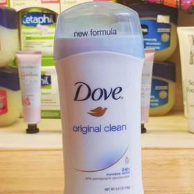 LĂN SÁP KHỬ MÙI DOVE 24h ORIGINAL CLEAN NHẬP MỸ - original clean dove