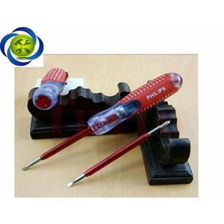 Bút thử điện 2 đầu màu đỏ - phi thumbnail