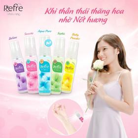 Xịt khử mùi hương nước hoa Mentholatum Refre 30ml - Xịt khử mùi hương nước hoa Mentholatum Refre-2