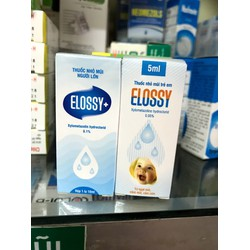 Nhỏ mũi Elossy 5ml